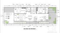 Tư vấn thiết kế nhà cấp 4 có 4 phòng ngủ ở nông thôn, chi phí chỉ 200 triệu