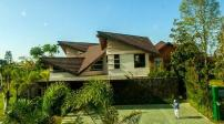 Ngôi nhà mái chồng mái tuyệt đẹp ở Philippin