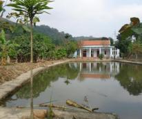Bán trang trại nghỉ dưỡng đã hoàn thiện trên diện tích 5000m2 đất thổ cư
