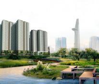 Căn hộ 3 MT, hiện đại với hồ bơi tràn bờ, giá 16 triệu/ m2.