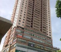 Cho thuê căn hộ Sông Đà Hà Đông gần HV An Ninh 94m đồ cơ bản giá thuê 7 triệu/th