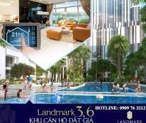 Vinhomes Central Park mở bán tháp L3&6 view sông và tòa 81 tầng.CĐT:0909763212