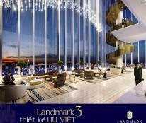 The Landmark-Khu căn hộ đắt giá-Đẳng cấp kiến trúc THẾ GIỚI chỉ 2,7 tỷ/căn.LH 0907667560