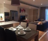 Cho thuê căn hộ cao cấp Đảo Kim Cương 2 phòng ngủ 125 m2 view sông