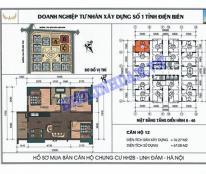 Bán căn góc 21_12 HH2B chung cư LINH ĐÀM giá rẻ!!LH:0988.070.313.