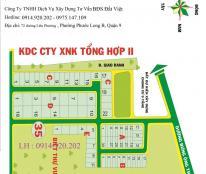 Bán đất nền dự án Xuất Nhập Khẩu Tổng Hợp quận 9, dt 100m2, giá 16tr/m2