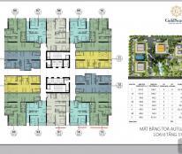 Bán cắt lỗ 300 Triệu căn hộ 2PN diện tích 65,65m2 chung cư Goldsean 47 Nguyễn Tuân