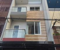 Gấp! Bán nhà hẻm 10m Nguyễn Thái Bình, P12, Tân Bình 4.5X18m, 3 lầu