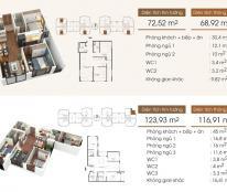 Bán căn nhỏ xinh 68,92 m2 ( căn 07 ) chung cư Five Star – Kim Giang, giá 22tr/m2