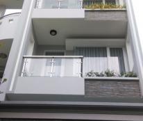 Bán gấp nhà  mặt tiền gần chợ Phú Thuận, Quận 7, diện tích 5mx18m, 4 tầng, tặng nội thất, giá 5.2 tỉ