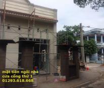 Bán nhà mới xây gác lửng 3 phòng ngủ 2 mặt tiền ở Thủ Dầu Một, Bình Dương.