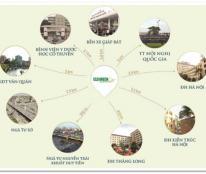 Bán chung cư Eco Green : căn 07 CT4= 94,87 m2. 3PN. Ban công ĐN