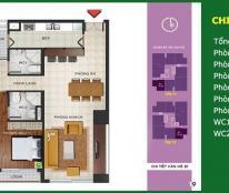 @Bán chung cư Ngoại giao đoàn tòa N04B, căn hộ 3 PN hướng Nam nhận nhà ngay