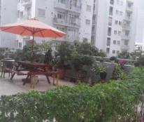 Căn hộ ở ngay sân vườn rộng đã ra sổ Hồng. Gía 12 triệu/m2