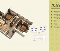 Chủ nhà bán Home City diện tích 70.99 m2 căn 05 view nội bộ.