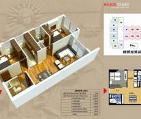 Chính chủ không ở bán gấp căn 04 tòa A: 70 m2 chung cư Helios 75 Tam Trinh, 2pn, ban công Nam