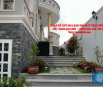 [hot hot] biệt thự khu bờ sông SG, 10x20, 3 lầu, 380m2, tặng NT gỗ CC, 17 tỷ (TL). LH: 0906.997.966