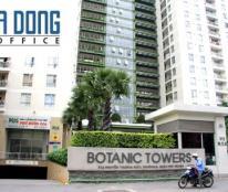Cho thuê văn phòng tòa nhà Botanic Tower Q.Phú Nhuận , DT 148m2, giá 30 triệu/tháng (bao VAT + PQL)