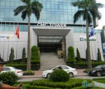 Cho thuê văn phòng đẹp, đẳng cấp tại phố Duy Tân – tòa CMC Tower dt 117m, 345m… LH: 0944 727 645