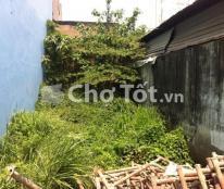 Không sử dụng nên bán lô đất hẻm 1 sẹc Quận Bình Tân