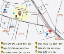 Bán chung cư tại Đường Phan Văn Hớn, Quận 12, Hồ Chí Minh diện tích 58m2 giá 868 Triệu