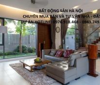 Bán biệt thự nhà vườn 105m2, 132m2, 147m2 và lô góc 170m2 khu ĐTM Trung Văn Hancic