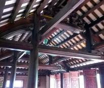 Bán và thi công nhà gỗ cổ các loại