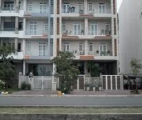 Cho thuê nhà phố L73 giá rẻ nhất khu Him Lam Kênh Tẻ, DT: 5x20m 1 hầm 1 trệt 4 lầu, MT đường 35m
