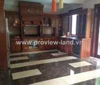 Biệt thự khu Eden Thảo Điền Quận 2 cho thuê căn villa 500m2 4PN sân vườn hồ bơi