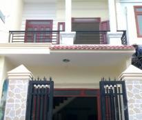 Bán gấp căn nhà 2 mặt tiền đường, 1 trệt, 1 lầu, sổ hồng riêng, giá 1,1 tỷ