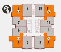 Bán cắt lỗ chung cư Nam xa La bên tòa CT2, căn 10 tầng 12, diện tich 80,3m2, giá 14tr/m2.
