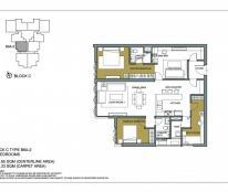 Bán suất ngoại giao tòa B Mulberry lane, DT 124m2 – 3PN, View sân vườn tầng 6, giá 29 triệu/m2