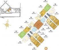 Cần bán căn 2 phòng ngủ Masteri Thảo Điền 73m2 tháp T3 view hồ bơi giá 2,6 tỷ LH 0938 658 818
