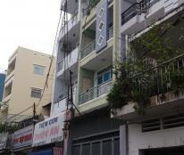 Cho thuê nhà hẻm 6m đường 3/2, gần Sư Vạn Hạnh, 5m x 20m, trệt, 3 lầu, ST, giá 20 tr/th