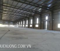 Cho thuê nhà xưởng ở Hưng Yên 1400m2 ngay ở dưới chân cầu Như Quỳnh