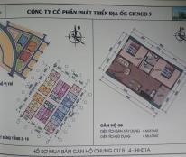 Chính chủ Cần bán gấp căn 808 HH01A –chênh 10tr,gốc 9.5tr/m2
