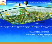 Đất nền sổ đỏ lâu dài siêu dự án Long Hưng ngay ngã ba Vũng Tàu giá chỉ 8.6 triệu/m2