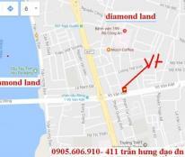 Bán 460m2 đất 2 MT đường Võ Văn Kiệt Đà Nẵng  hướng Nam và Tây,đất đẹp xây cao tầng