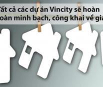 Bán căn hộ cao cấp VinCity Q9 của tập đoàn BĐS số 1 VN giá chỉ 13tr/m2, 2 mặt tiền sông