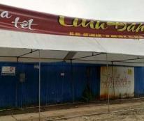 Cho thuê gian hàng chợ hoa tết 2017 tại khu đất cạnh chung cư HH4 Linh Đàm DT 5000m2,