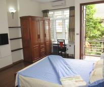 Cho thuê căn hộ dịch Văn Cao, Ba Đình 45 m2 , 1PN, 1VS giá 9tr/th. Full đồ