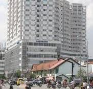 Cho thuê căn hộ chung cư H3 Q.4 lầu cao nhà đẹp thoáng mát dt 73m2 2pn 1wc nội that đầy đủ