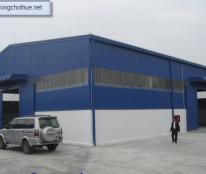 Cho thuê gấp nhà xưởng đẹp mới xây dựng 400m2, giá 18tr/tháng ở Hiệp Thành, Quận 12