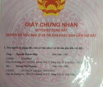 Bán đất thổ cư hẻm 7 Bờ Kè, cầu Bà Bộ đường Nguyễn Văn Linh giá 550 triệu