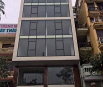 Cho thuê nhà Hoàng Quốc Việt,80m x 5 tầng 50tr, MT=5m