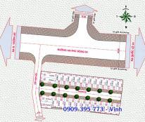 30 lô đất An Phú Đông 03 giá 17tr/m2, kế bên khu biệt thự An Phú Đông, Q12. Đường nhựa 11m, điện âm