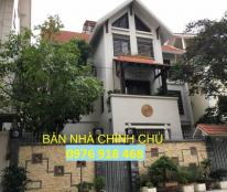 Bán biệt thự Trung Văn, Hancic, Nam Từ Liêm, mặt chung cư 105m2 đất tự xây, vị trí đẹp kinh doanh