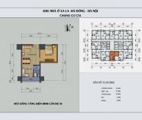 Chỉ với 850 tr bạn sở hữu ngay căn hộ CT4A Xa La 53 m2. Giá không thể rẻ hơn