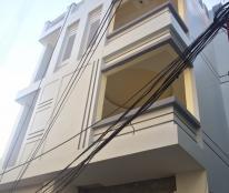 Bán nhà 3.5 tầng đang hoàn thiện, 3 mặt thoáng, gần mặt  Nguyễn Công Hòa. Giá chỉ 1.45 tỷ (CTL)