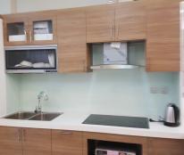 Cho thuê chung cư Tràng An Complex. 80m2. 2 phòng ngủ đồ cơ bản đẹp giá 10 triệu/tháng.